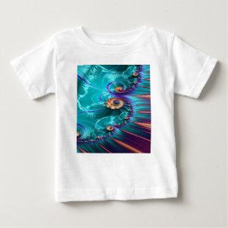 polymeric shank fractal baby T-Shirt