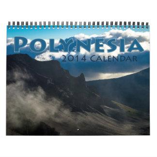 Polynesia 2014 calendar