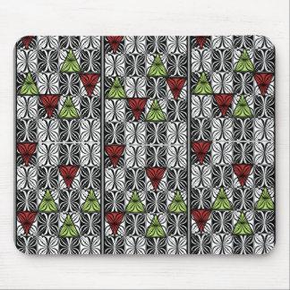Polynesia floral mouse pad
