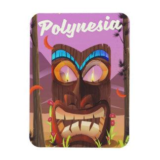 Polynesia Tiki mask Magnet