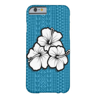 Polynesian design flower barely there iPhone 6 case