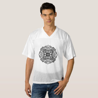 Polynesian Maori style tattoo mandala ethnic art Men's Football Jersey