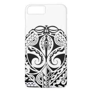 Polynesian mask tattoo design iPhone 7 plus case