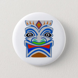 Polynesian Mythology 6 Cm Round Badge
