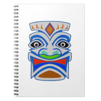 Polynesian Mythology Spiral Notebook