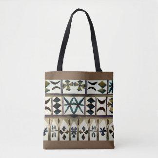 Polynesian Tribal Inspired Designer Fashion Totes
