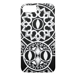 Polynesian tribal sun tattoo iPhone 7 case
