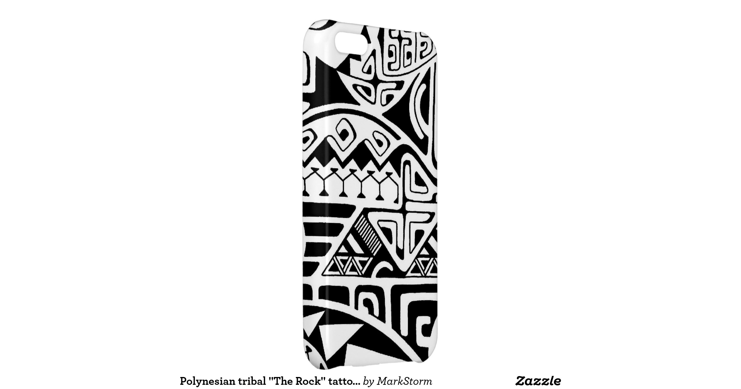 polynesian tribal the rock tattoo design cover for iphone 5c zazzle. Black Bedroom Furniture Sets. Home Design Ideas