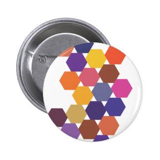 Polypattern 6 Cm Round Badge