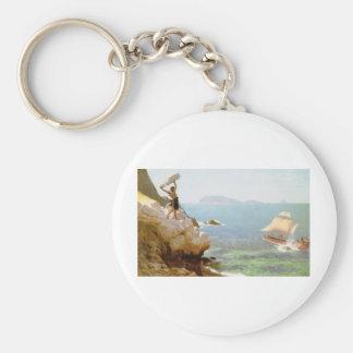 Polyphemus Key Ring