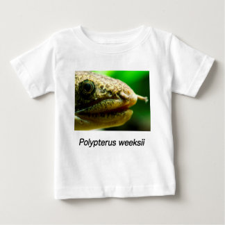 Polypterus weeksii baby T-Shirt