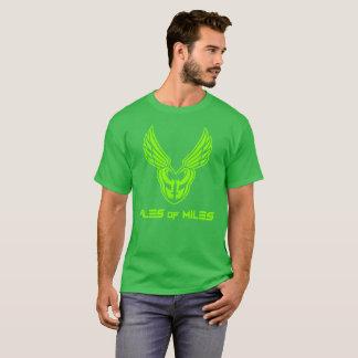 PoM Neon Green full logo front T-Shirt