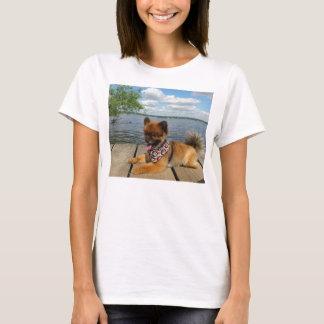 pom pup on dock T-Shirt