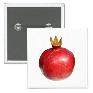 Pomegranate 15 Cm Square Badge