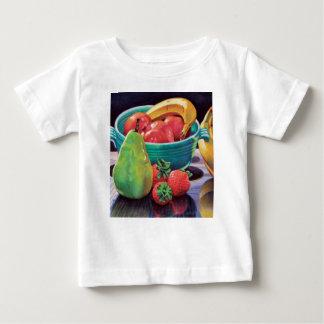 Pomegranate Banana Berry Pear Reflection Baby T-Shirt