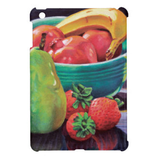Pomegranate Banana Berry Pear Reflection iPad Mini Cases