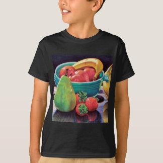 Pomegranate Banana Berry Pear Reflection T-Shirt