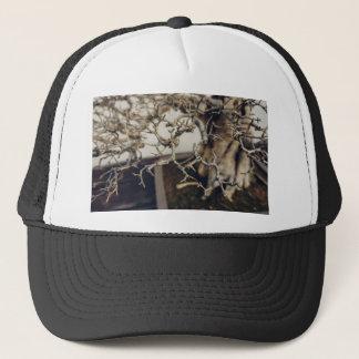 Pomegranate bonsai branches trucker hat
