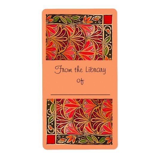 Pomegranate bookplate