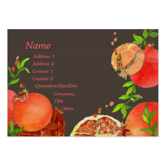 Pomegranate Business Cards