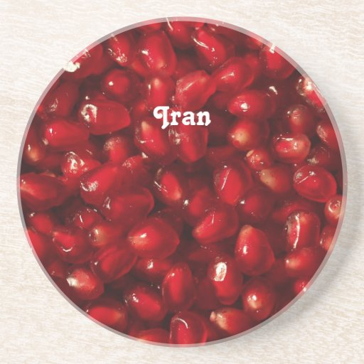 Pomegranate Drink Coasters