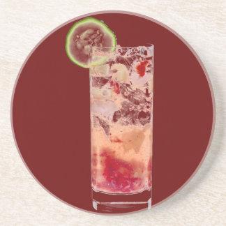 Pomegranate Collins Coaster