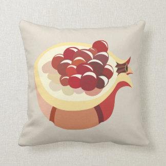 Pomegranate fruit illustration cushion
