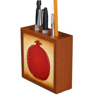 Pomegranate Illustration Desk Organiser