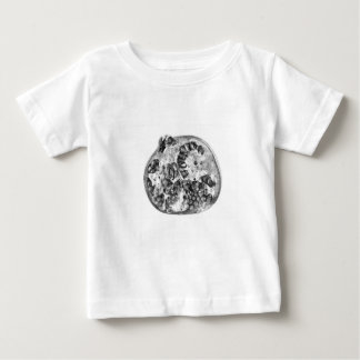 Pomegranate in Black and White Baby T-Shirt