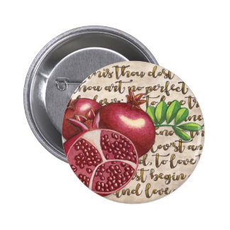 Pomegranate Love Once Again 6 Cm Round Badge