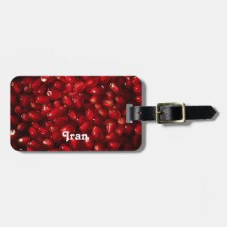 Pomegranate Luggage Tag