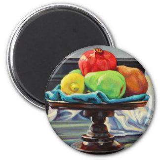 Pomegranate Pear Lemon Pedestal Magnet