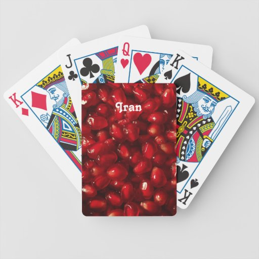 Pomegranate Playing Cards