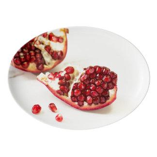 Pomegranate Porcelain Platter