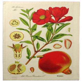 Pomegranate Printed Napkin