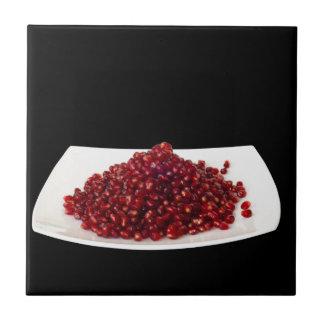 Pomegranate seeds tile