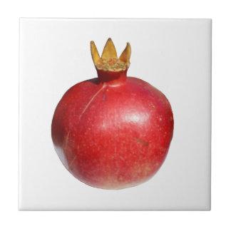 Pomegranate Small Square Tile