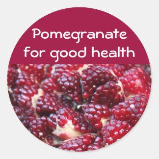 Pomegranate stickers