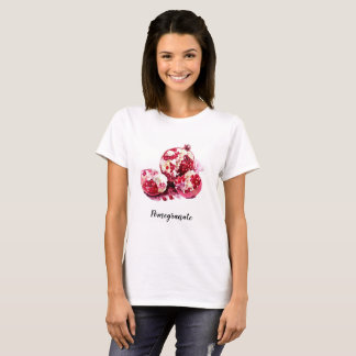 Pomegranate watercolour painted. T-Shirt