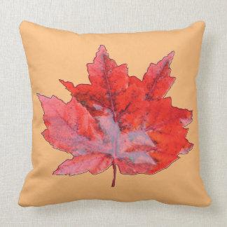 Pomegranate Wet Leaf Cushion