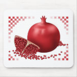 Pomegranate with Seeds Mouse Pads