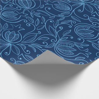 Pomegranate wrapping paper