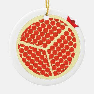 pomegrante in the inside ceramic ornament