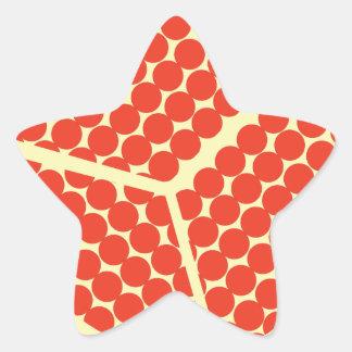 pomegrante in the inside star sticker