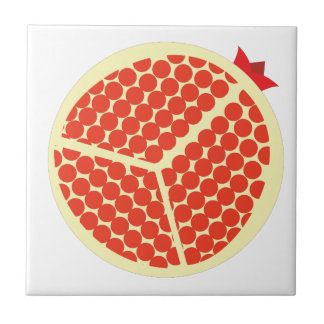 pomegrante in the inside tile