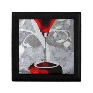 Pomegrante Rum 2011.JPG Small Square Gift Box