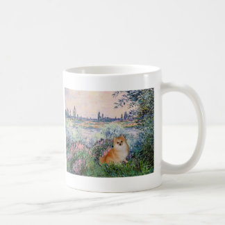 Pomeranian 3 - By the Seine Coffee Mug