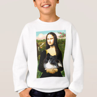 Pomeranian (BW) - Mona Lisa Sweatshirt