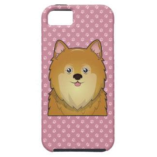 Pomeranian Cartoon Tough iPhone 5 Case