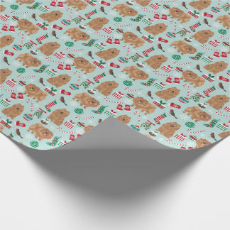 Pomeranian Christmas wrapping paper